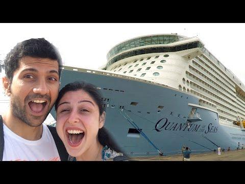 Summer Cruise Vlog || Part 1 || Kochi To Singapore!!!!