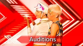 Bradley and Ottavio patch things up to form double act | Auditions Week 2 | The X Factor UK 2016
