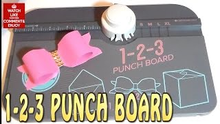 Craft DIY: 1 2 3 PUNCH BOARD BOW / Cup N cakes Gourmet