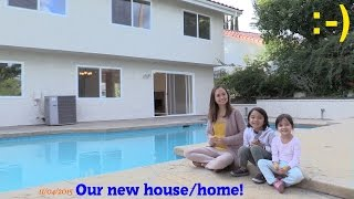 We Just Bought a New House! Hulyan and Maya's NEW HOME! A Tour Around