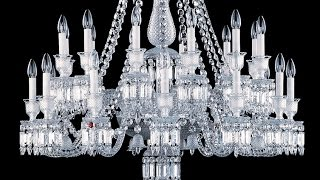 How a Baccarat Chandelier is made - BrandmadeTV