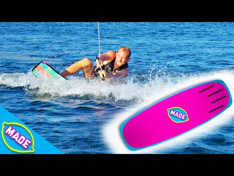 We Made Our Own DIY Wakeboard and Tested It Will We Stand