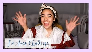No Arms Challenge! | Andrea B.