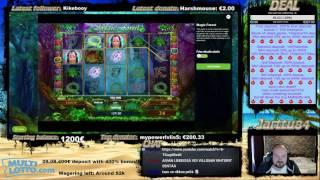 Comeback Win - Magic Forest Slot Bonus