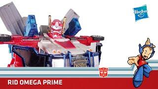 Transformers Omega Prime RID Review en Español