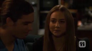 Piper and Tyler first kiss scene ep 7281