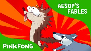 The Wolf and the Pipe   Aesop's Fables   PINKFONG Story Time for Children