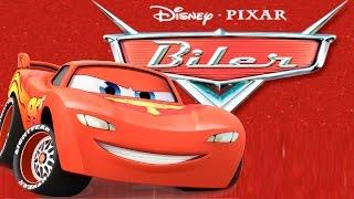 BILER NORSK FULL MOVIE GAME Lynet McQueen Lightning Cars Disney Pixar Video Spill Film for barn