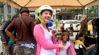 Cassandra Lee Jatuh dari Sepeda | Selebrita Siang