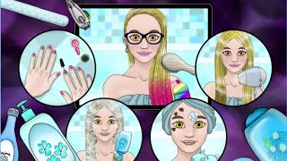 """Sisters Daily Care """"TutoTOONS Kids Games Educational Creativity"""" Android Gameplay Video"""
