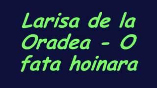 Larisa de la Oradea