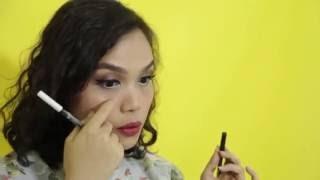Sariayu Glam Nude Makeup Look Tutorial