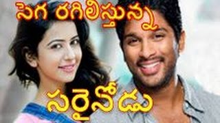 Sarinodu latest first look teaser report│Allu Arjun, Rakul Preet│