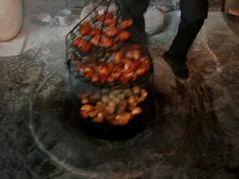 Amazing underground BBQ system in Armenia