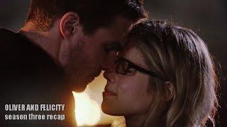 Oliver and Felicity | Season Three Recap