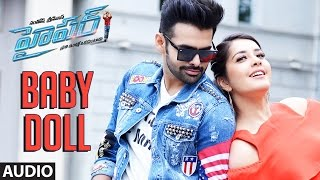 Hyper Songs | Baby Doll Song | Ram Pothineni, Raashi Khanna | Ghibran