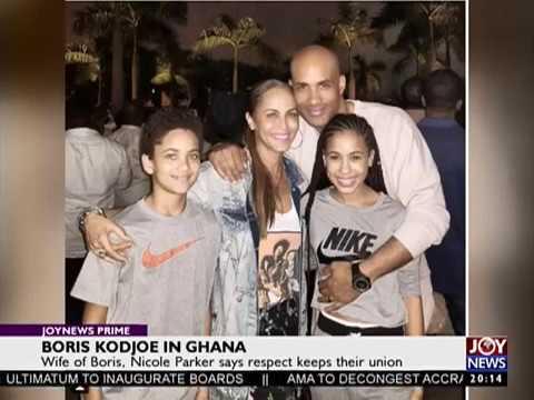 Boris Kodjoe in Ghana - Joy Entertainment Prime (2-1-18)