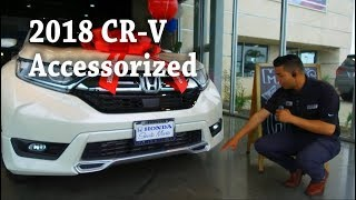 2018 Honda CR-V EX with Accessories and Leather installed