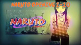 Naruto | All Opening 1-9 + Download Link