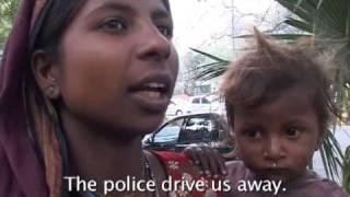 Child Beggars in New Delhi, India