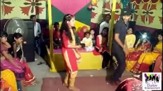 Bangladeshi wedding dance at village 2016