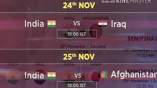 Asian Kabaddi championship 2017 schedule and live match