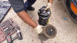 How to replace front strut   - Toyota corolla 1993 - 2016