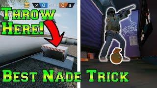 Amazing Secret Grenade Trick - Rainbow Six Siege