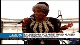 Mzwakhe Mbuli on Thandi Klaasen's passing