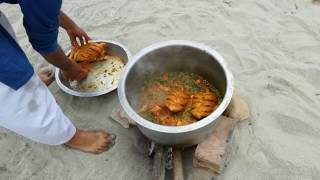 Full CHICKEN Gravy | Full chicken kulambu | Cooking Entire Chicken | VILLAGE FOOD SECRETS