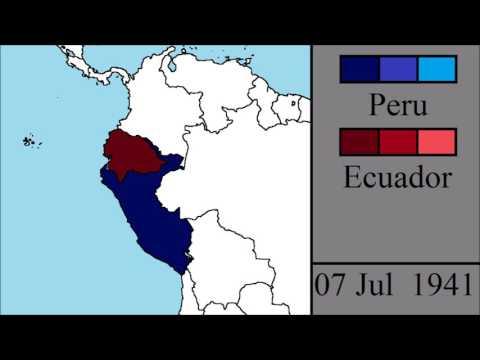 The Ecuadorian - Peruvian War: Every Day