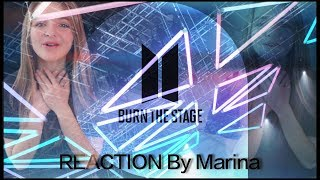 I'd do it all | BTS: Burn the Stage Ep1 (REACTION FR) - Marina