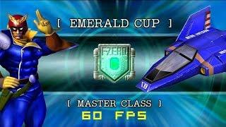 F-Zero GX: Grand Prix | Emerald Cup | Master Class | Captain Falcon [60fps]