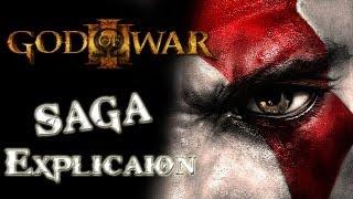 SAGA de God of war - explicación de su historia (cronologicamente) (historia explicada)