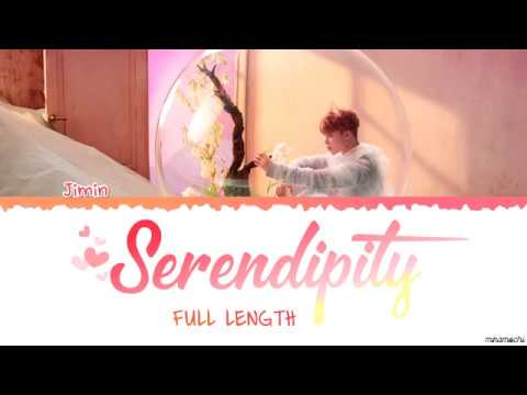 Full Length Edition BTS JIMIN SERENDIPITY 세렌디피티 Lyrics Color Coded Han Rom Eng