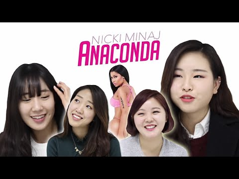 Xxx Mp4 Korean Girls React To Nicki Minaj Anaconda ENG Sub 3gp Sex