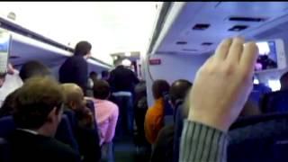 Jet Blue Pilot Restrained by Passengers