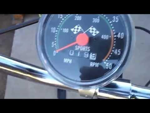 Spedometer Upgrade on My 48cc Motorized Bicycle
