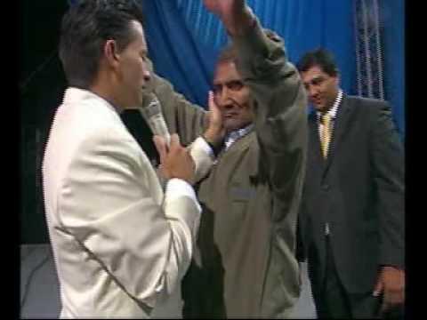 Teodosio era ciego y Dios lo sano en Noches de Gloria Arequipa Perú