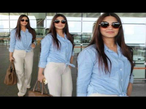 Sonali Bendre Hot At Airport