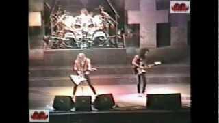 Metallica live Toronto 9th Dec 1986