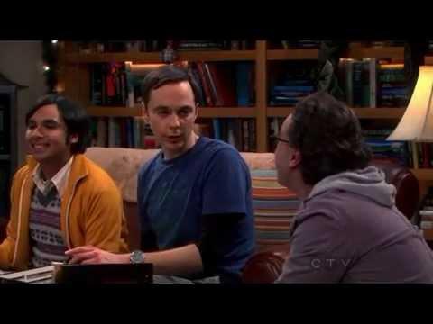 The girls walked like a model Sheldon checks Amy s ankle The Big Bang Theory S6x11