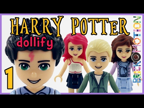 If Harry Potter characters were LEGO minidolls 1