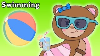 Fun Pool Time | Swimming and More | Baby Songs from Mother Goose Club!