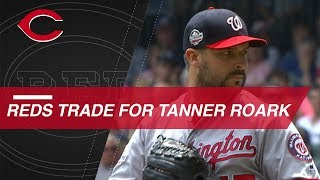 Tanner Roark traded to Reds from Nationals