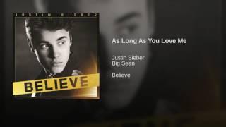As Long As You Love Me
