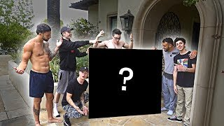 SURPRISING THE FAZE HOUSE WITH A HUGE GIFT!!