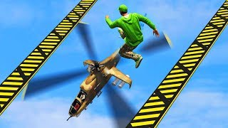 JUMP OR GET CHOPPED! (GTA 5 Funny Moments)