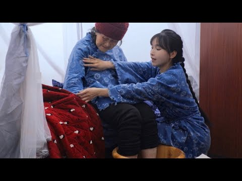 (EP2)蓝草的一生?蓝印花布的一生?还是李子柒花裙子的一生?The life of blue calico dresses hand dyed by Li Ziqi 丨Liziqi Channel