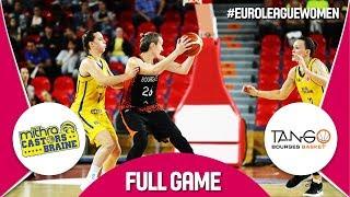 Castors Braine (BEL) v Bourges Basket (FRA) - Full Game - EuroLeague Women 2017-18